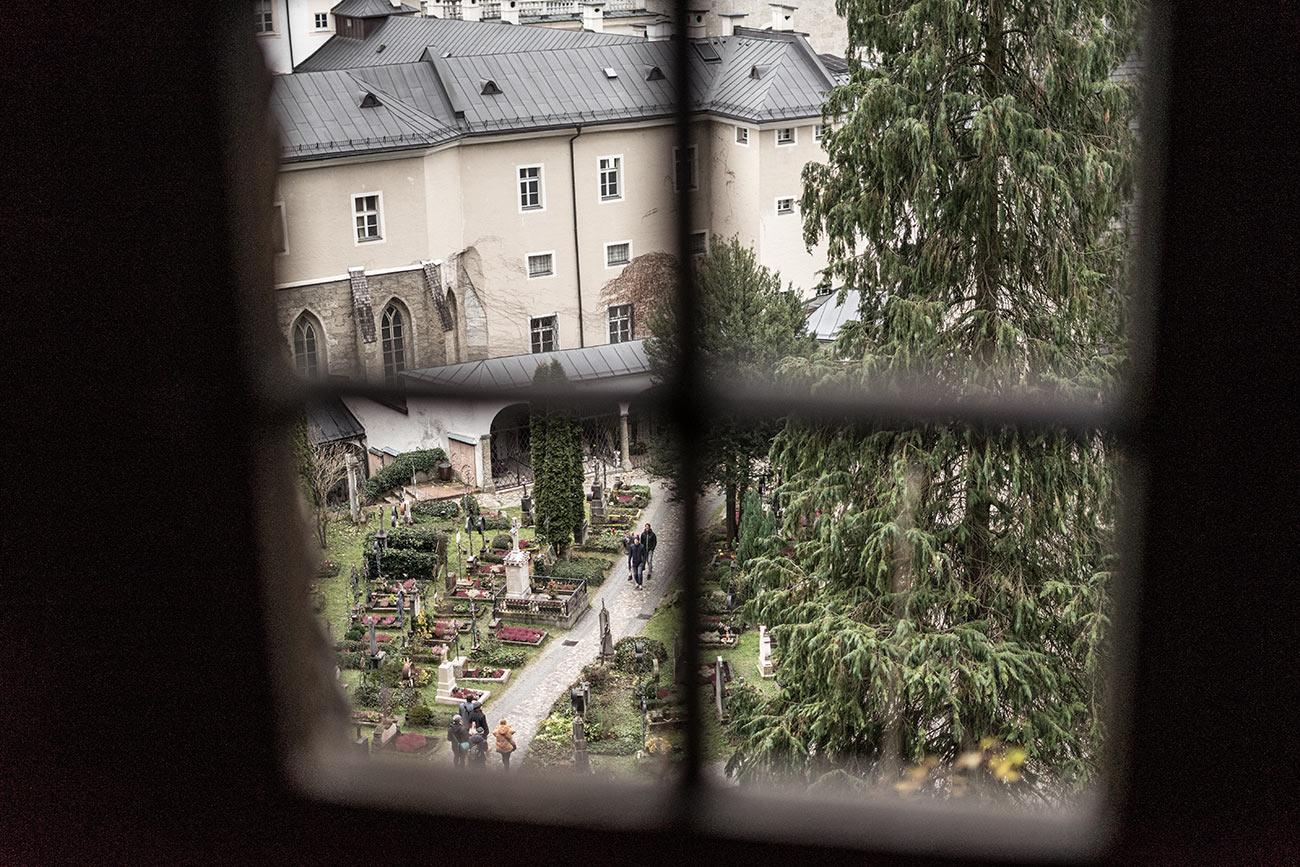 Blick auf Petersfriedhof (c) STADTBEKANNT Zohmann