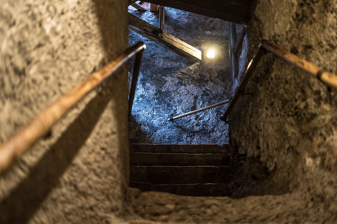 Aufgang Katakomben (c) STADTBEKANNT Zohmann