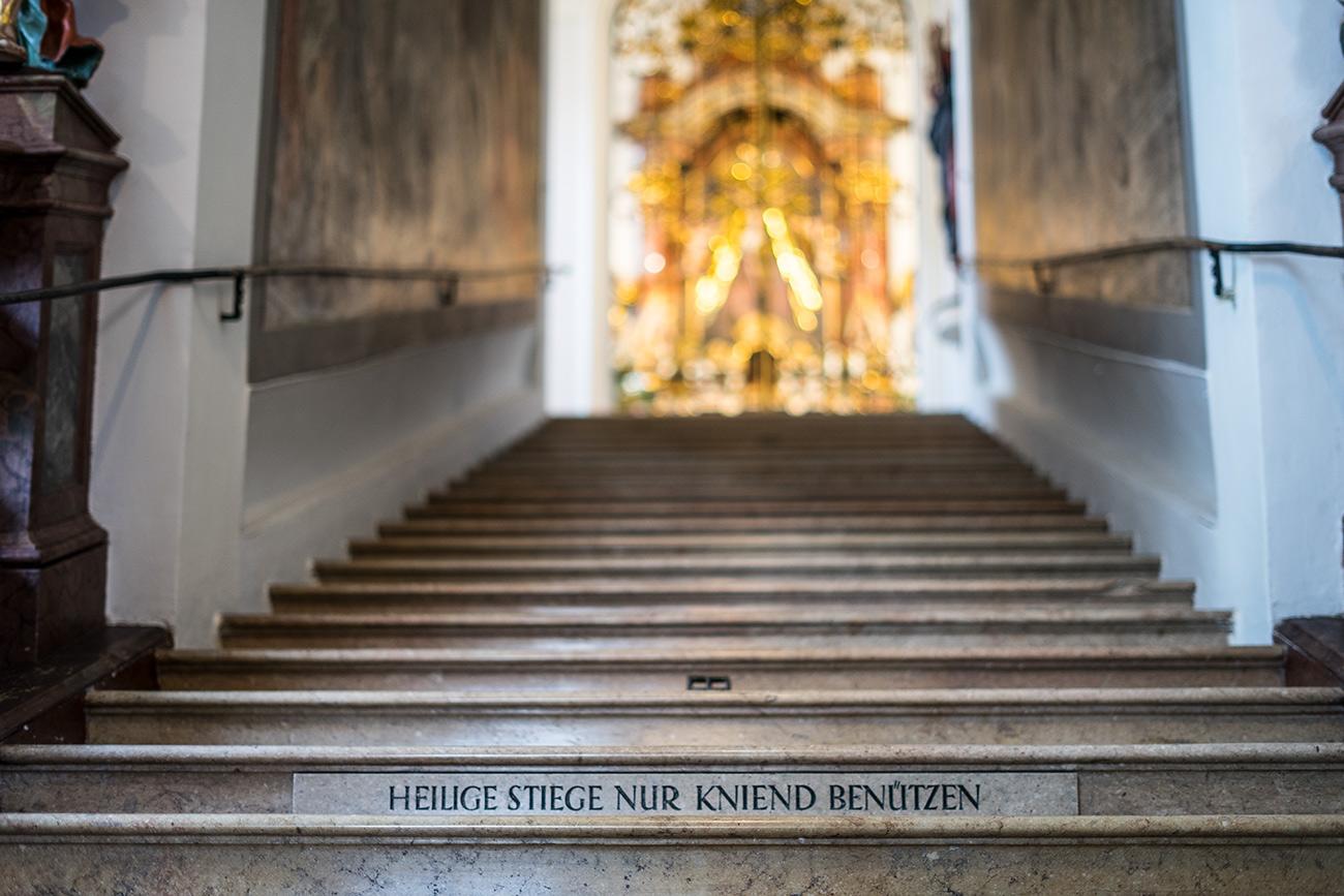 Heilige Stiege (c) STADTBEKANNT Zohmann