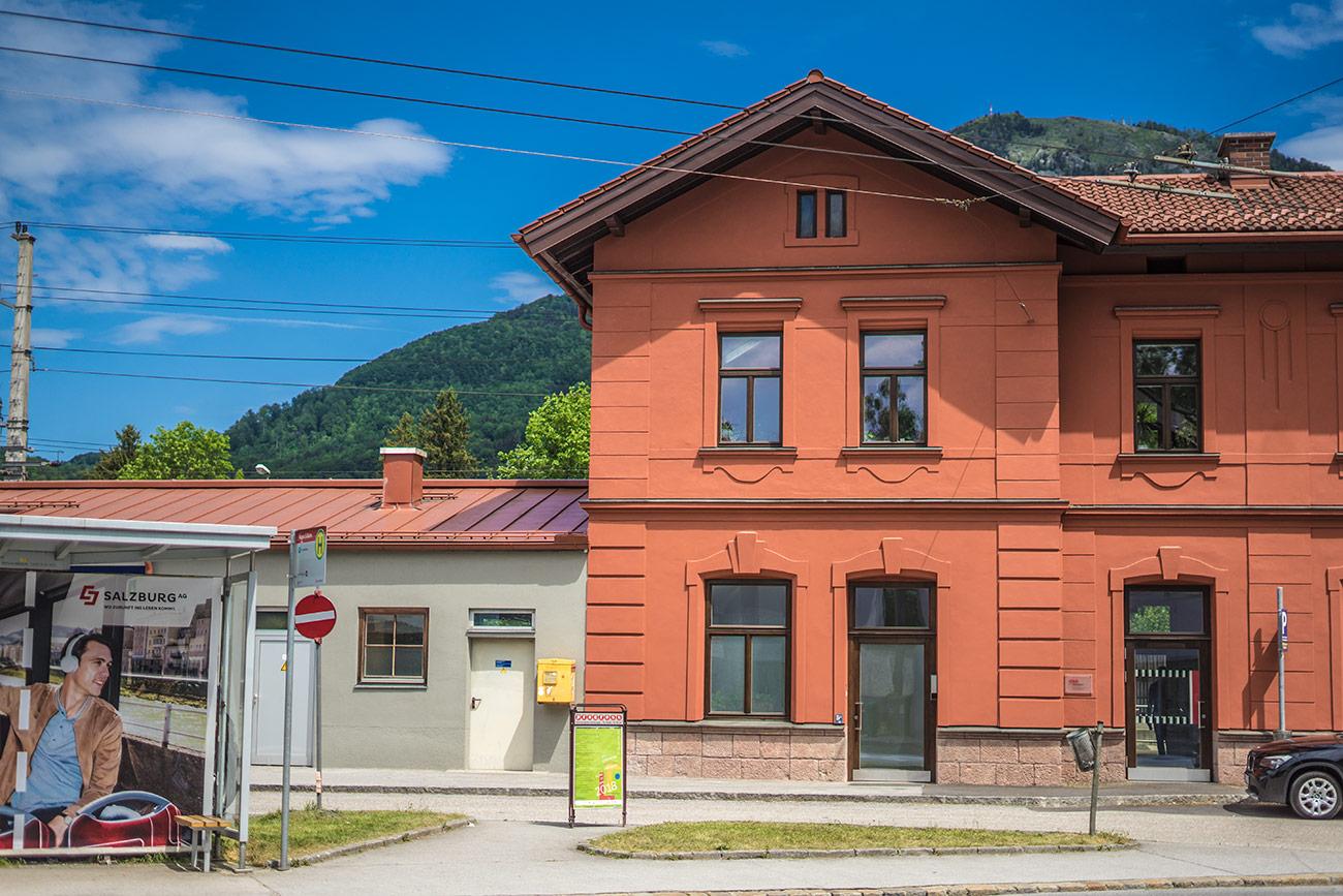 Bahnhof Aigen (c) STADTBEKANNT Zohmann