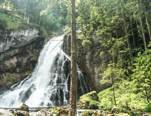 Radtour zum Gollinger Wasserfall