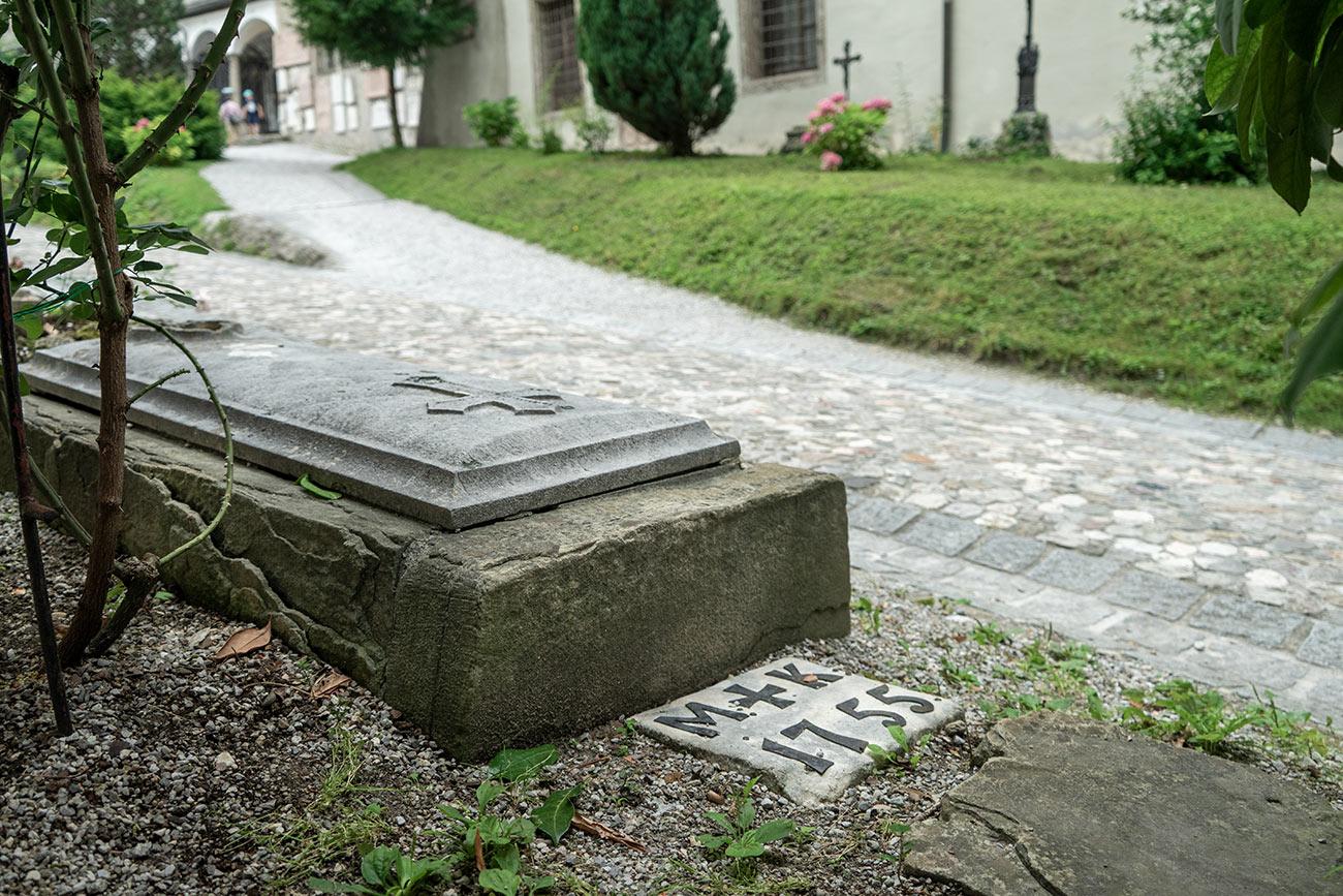 Grab Matthias Kempfer am Petersfriedhof (c) STADTBEKANNT Zohmann
