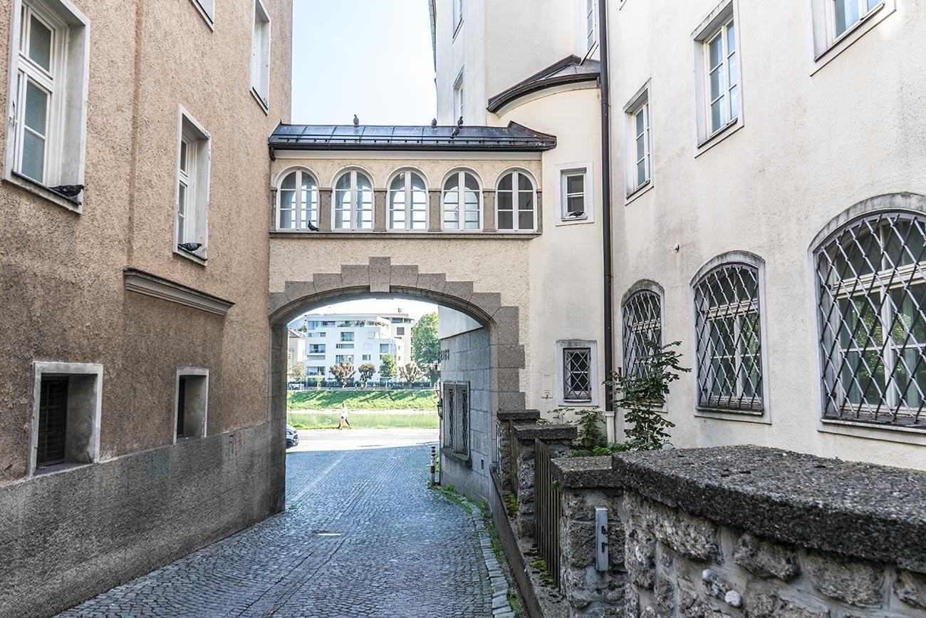 Salzachgässchen (c) STADTBEKANNT Zohmann