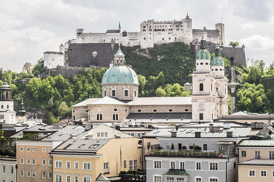 Aussicht auf Salzburg von Seven Senses (c) STADTBEKANNT Zohmann