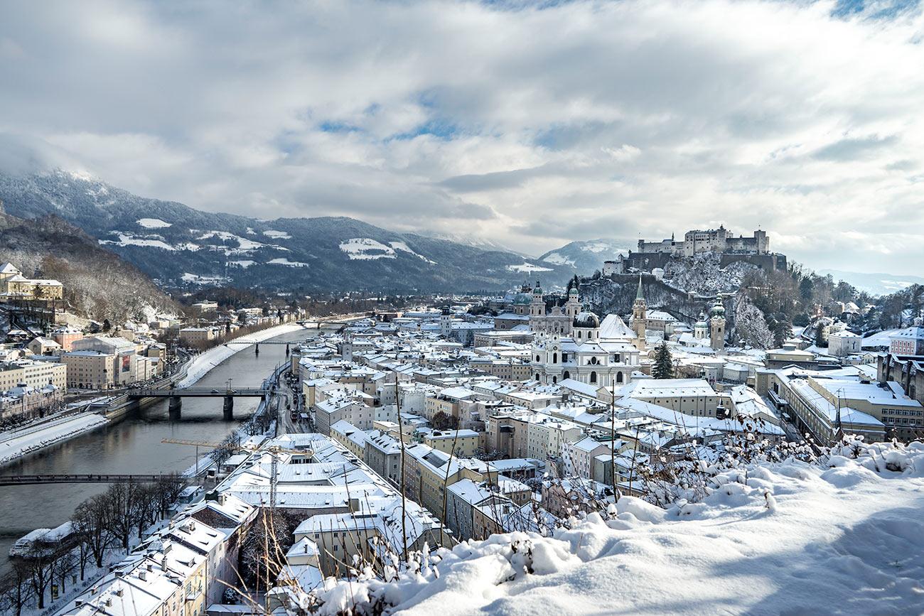 Winterliches Salzburg (c) STADTBEKANNT Zohmann