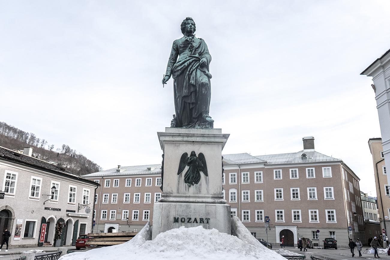 Mozartdenkmal (c) STADTBEKANNT Zohmann