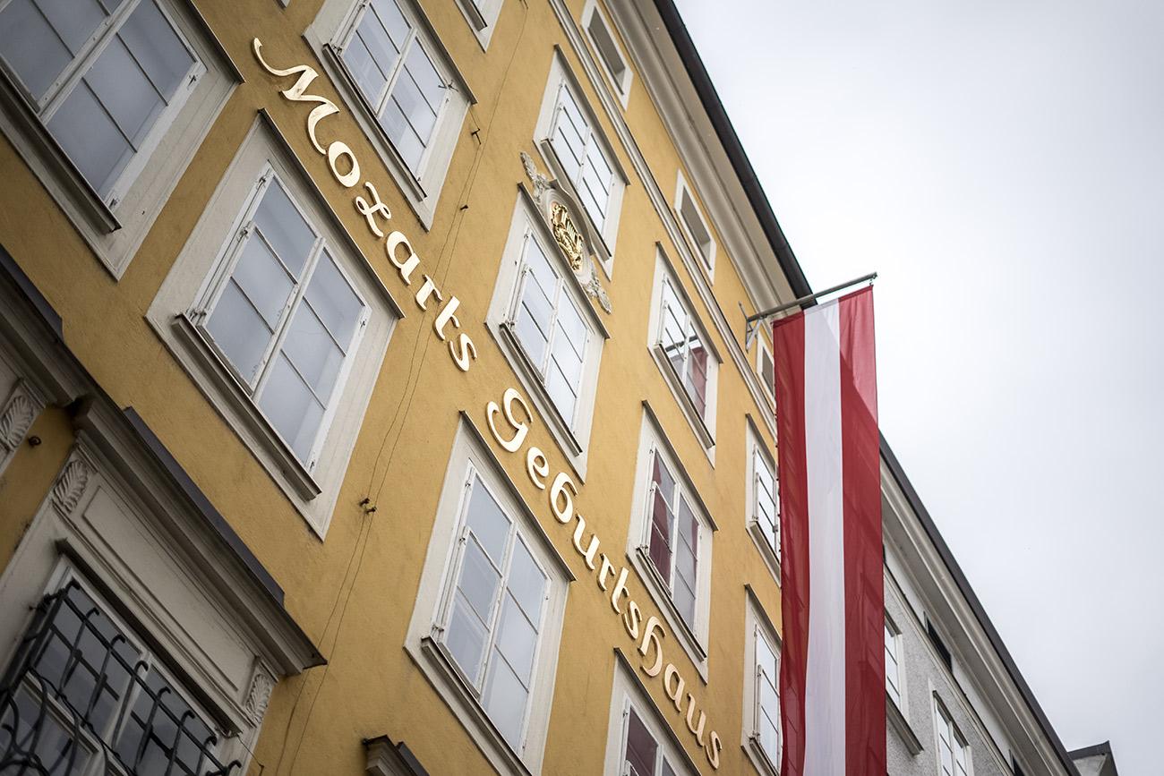 Mozarts Geburtshaus (c) STADTBEKANNT Zohmann
