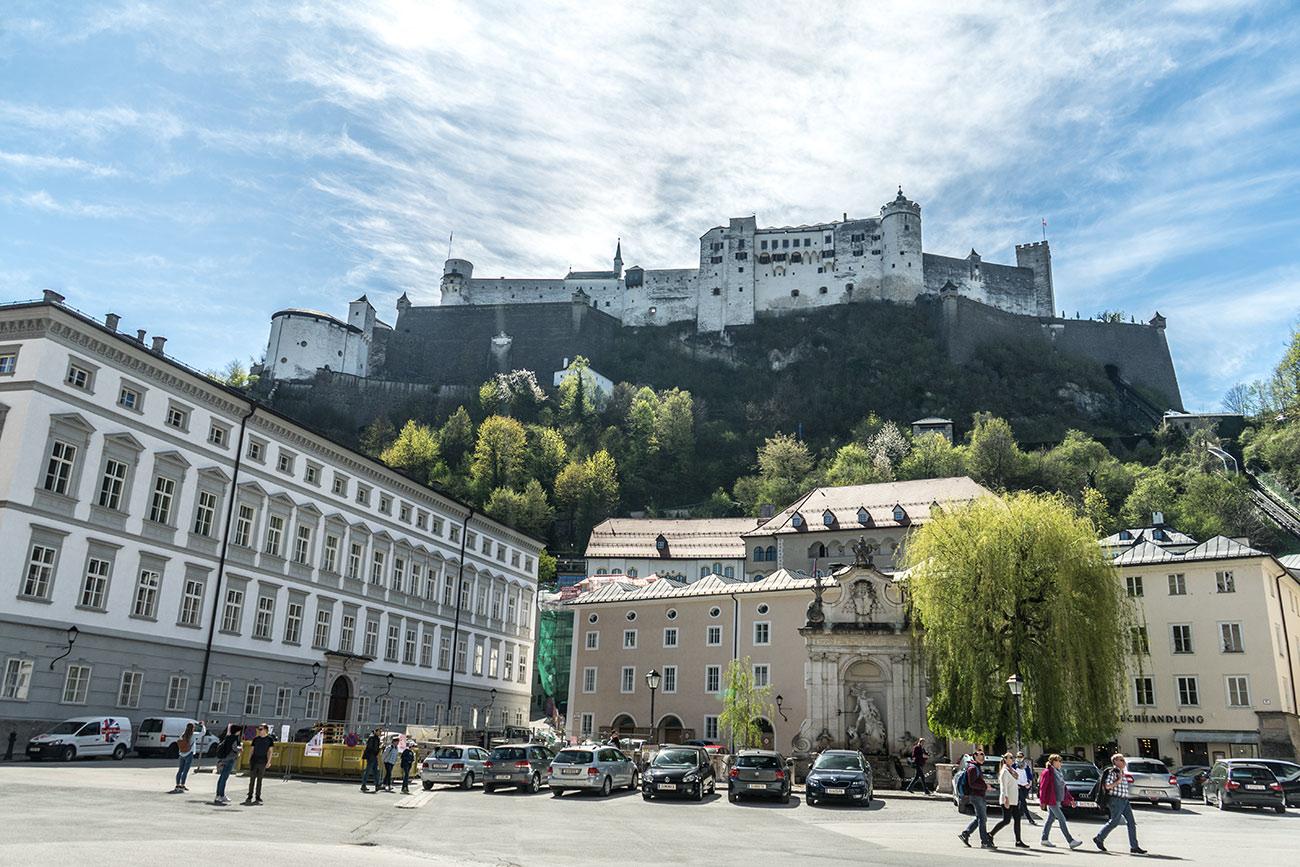 Salzburg Kapitelplatz (c) STADTBEKANNT Zohmann