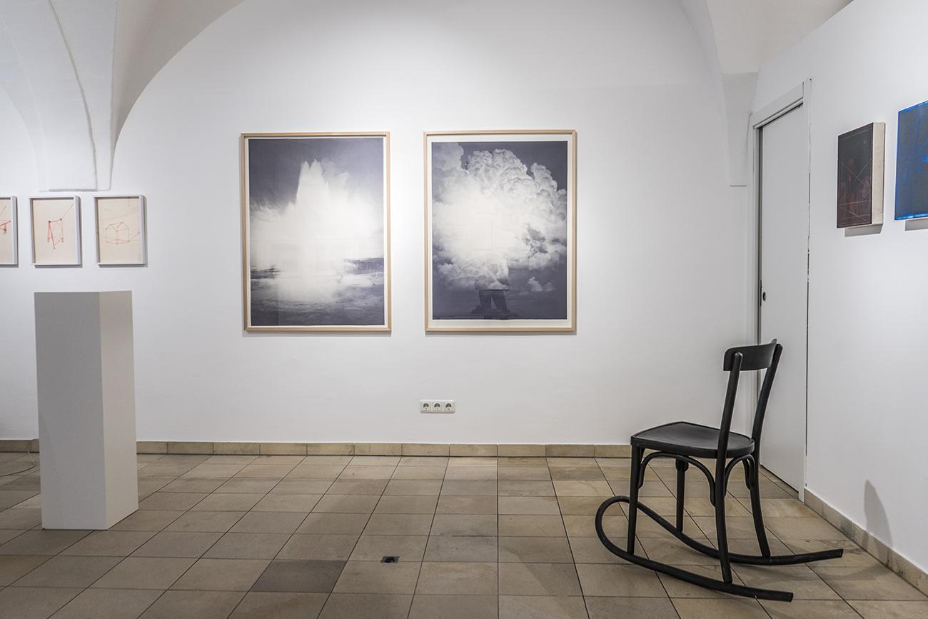 Galerie Sohpia Vonier / Werke von Martina Mühlfellner und Friedrich Rücker (c) STADTBEKANNT Zohmann