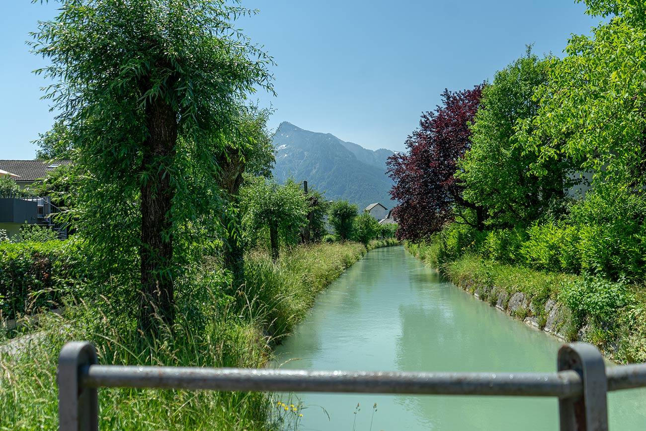 Almkanal in Gneis (c) STADTBEKANNT Zohmann