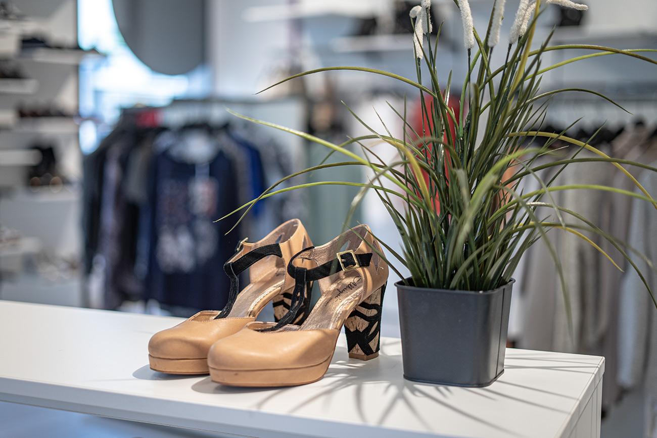 Schuhe bei Carla in Herrnau (c) STADTBEKANNT Zohmann