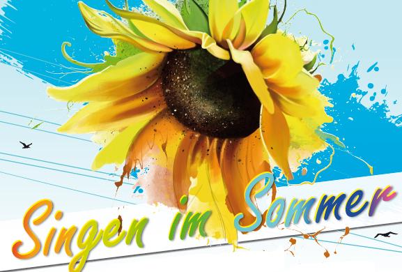 Singen im Sommer Plakat (c) Daniela Glantschnig