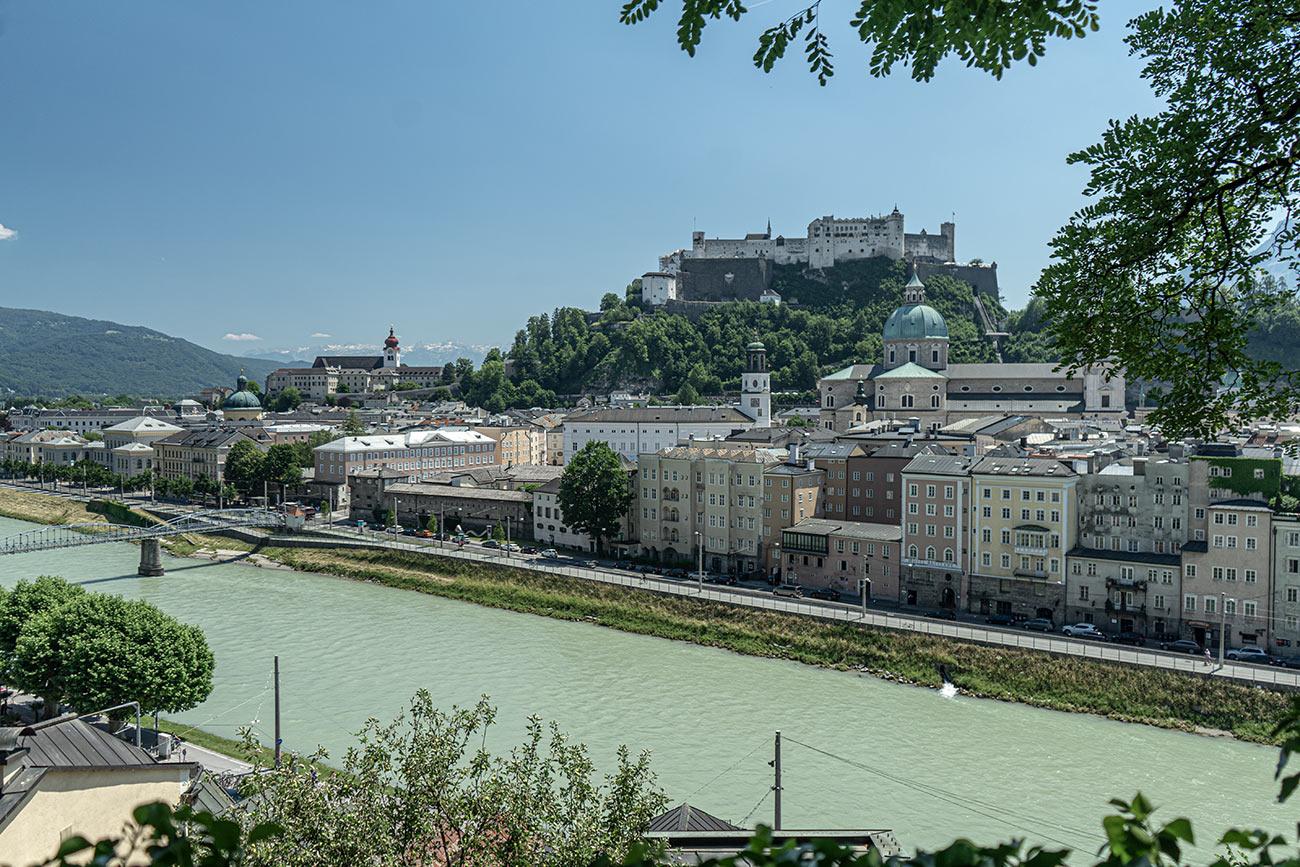 Stadt Salzburg - Ausblick vom Kapuzinerberg (c) STADTBEKANNT Zohmann