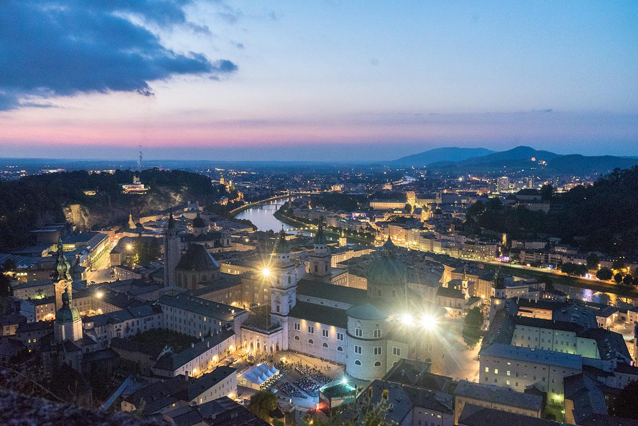 Salzburg Abendstimmung (c) STADTBEKANNT Zohmann