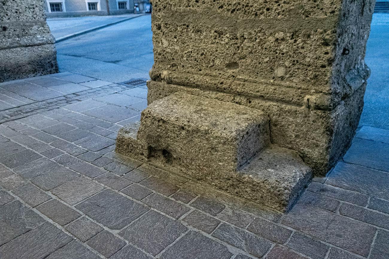 Podest am Domplatz (c) STADTBEKANNT Zohmann