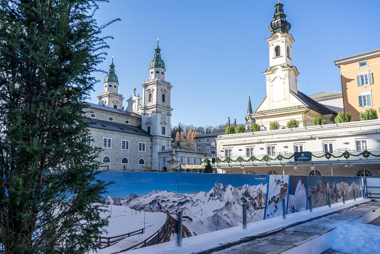 Mozartplatz im Advent (c) STADTBEKANNT Zohmann