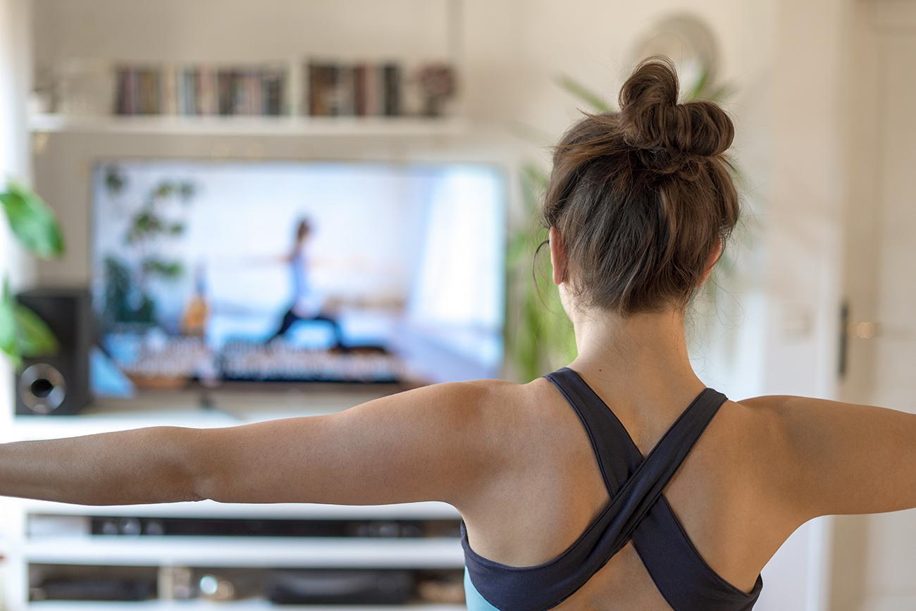Yoga Online-Kurse (c) STADTBEKANNT Zohmann