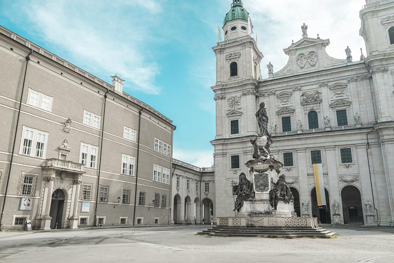 Wohin in Salzburg: Domplatz (c) STADTBEKANNT Zohmann