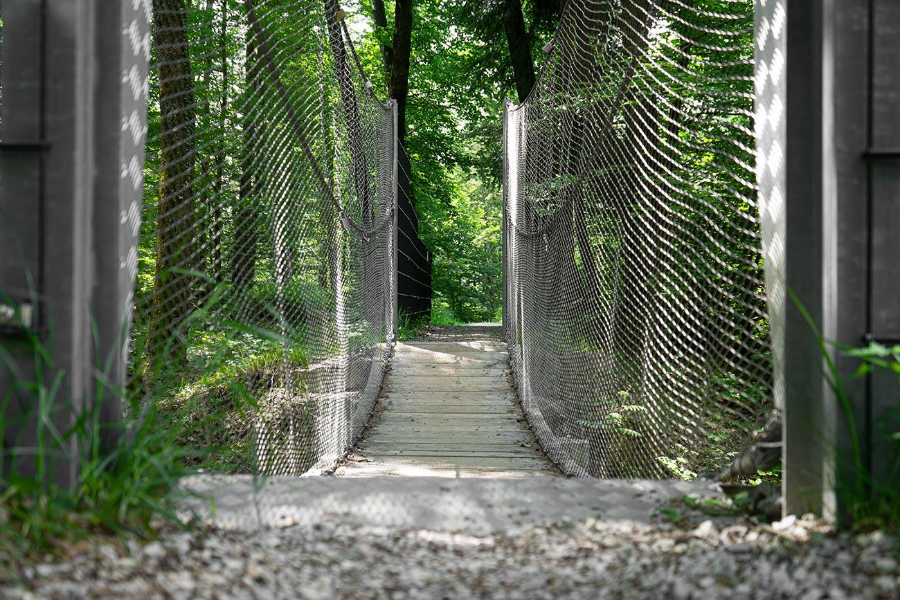 Hängebrücke am Marmorweg Adnet (c) STADTBEKANNT Zohmann