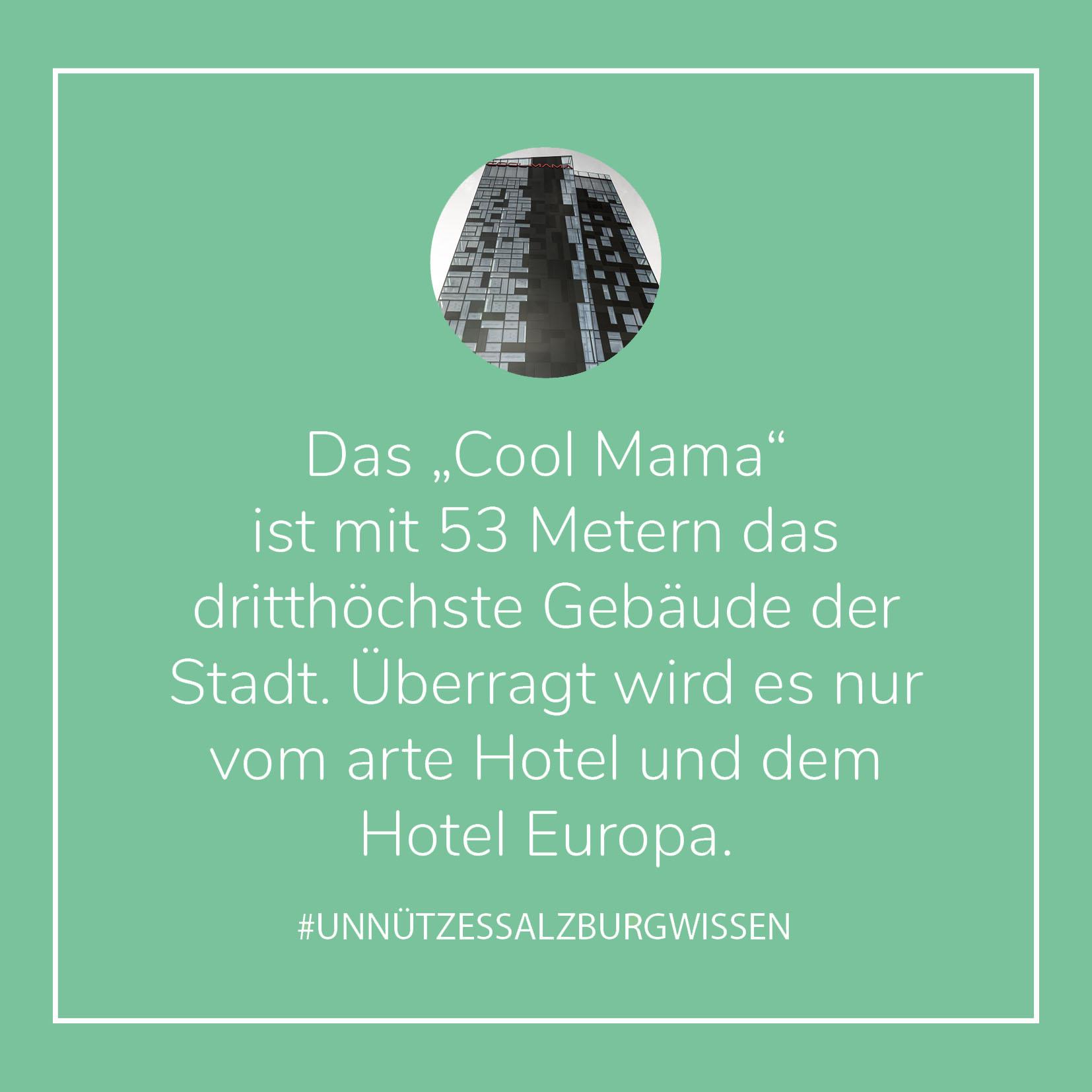 Unnützes SalzburgWissen - Cool Mama (c) STADTBEKANNT