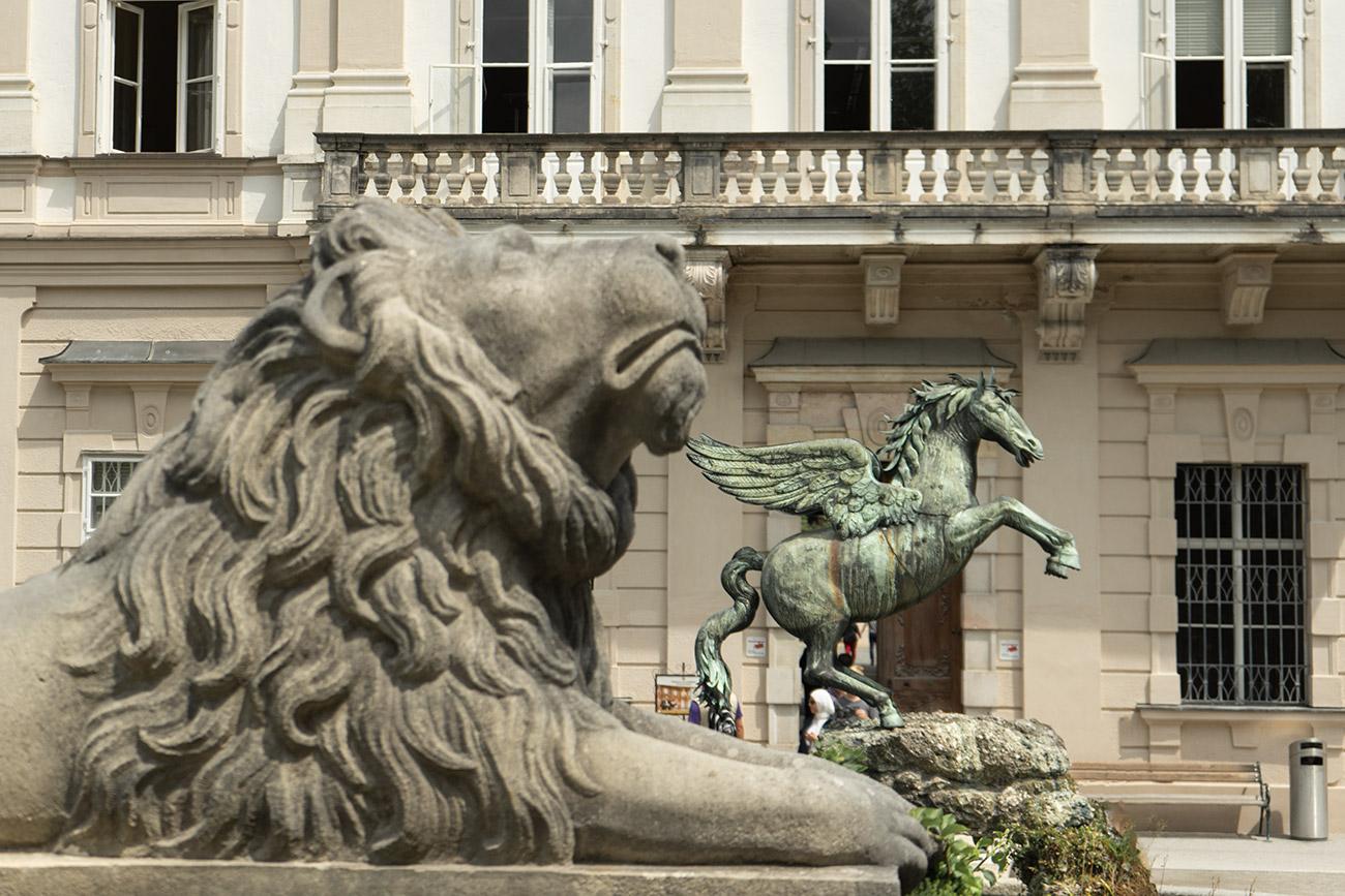 Pegasus bei den Kunstgehschichten (c) STADTBEKANNT Zohmann
