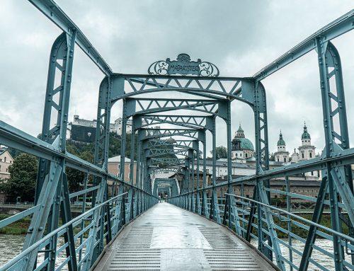 Brückenmaut am Mozartsteg