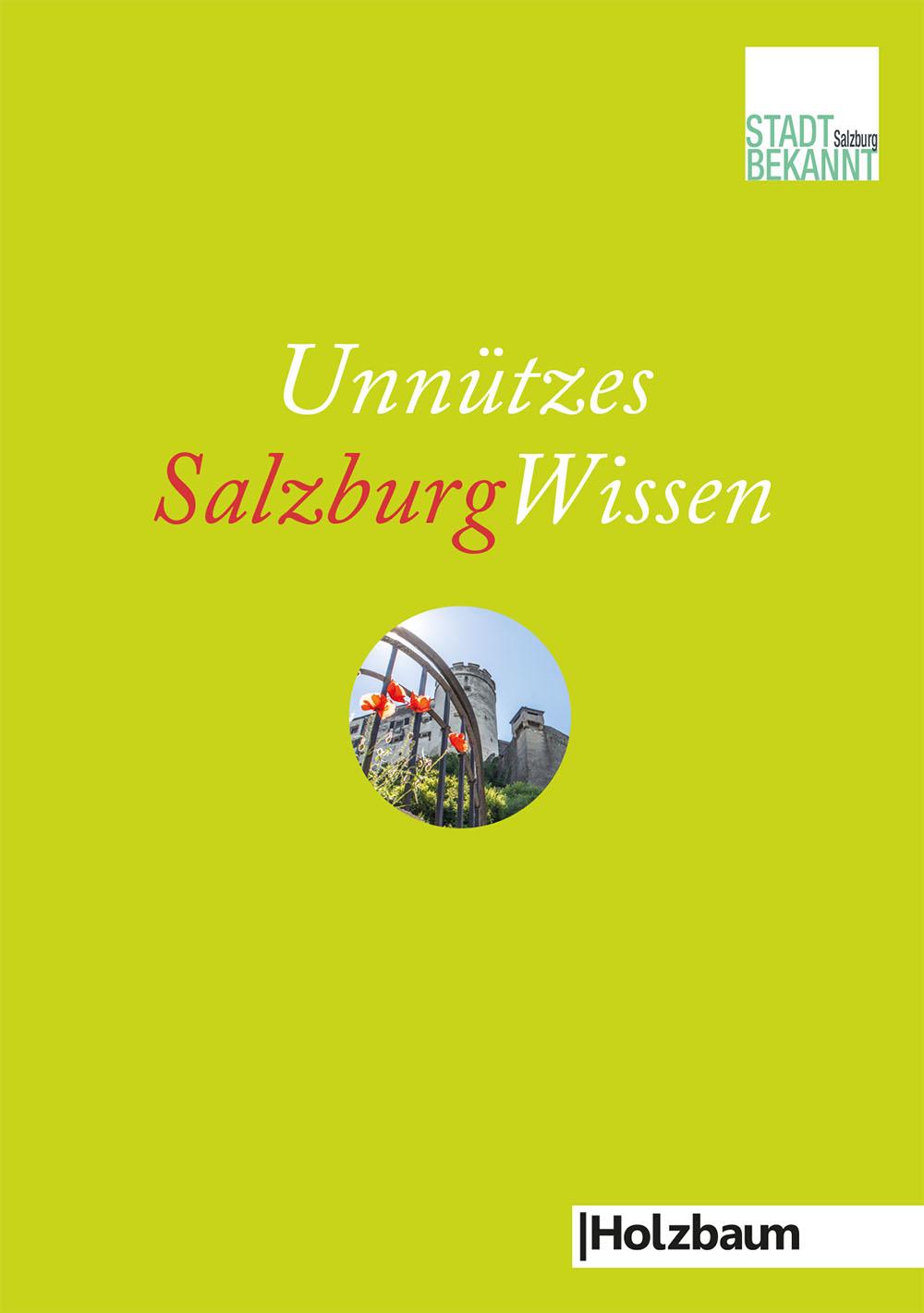 UnnützesSalzburgWissen - Cover (c) STADTBEKANNT